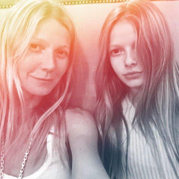 Гвинет Пэлтроу с дочерью Эппл, Фото: @gwynethpaltrow