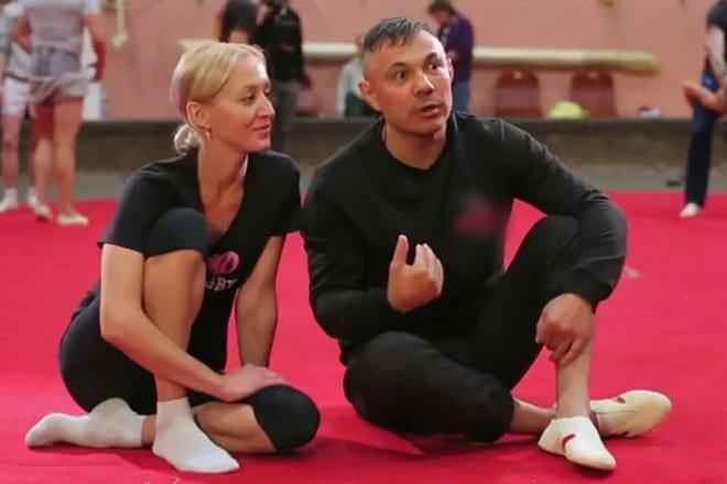 Костя Цзю и Александра Демьянец, Фото: кадр из программы «Без страховки»