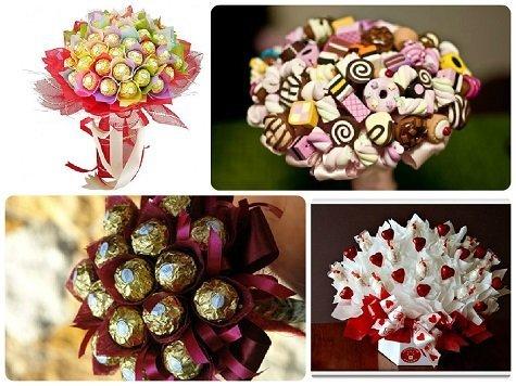 Что-подарить-сотрудницам-на-8-марта-букеты-из-цветов