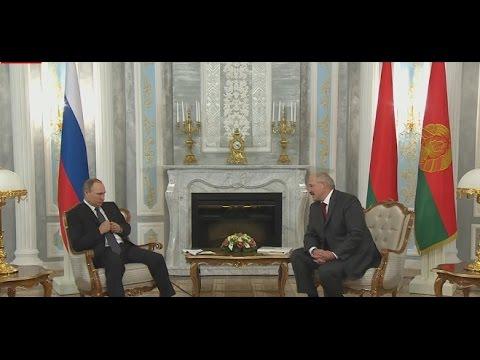 Лукашенко назвал Владимира Путина Дмитрием Анатольевичем