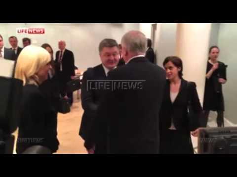 Премьер-министр Баварии «тонко» оскорбил Порошенко на глазах всего мира