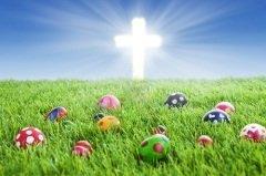 Важными символами Пасхального понедельника, как и символами самой Пасхи, являются крест и яйца (Фото: Creativa, Shutterstock)