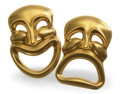 Вы любите театр? (Фото: James Steidl, Shutterstock)