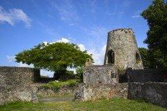 Руины мельницы для переработки сахарного тростника, где работали рабы (Фото: George Burba, Shutterstock)
