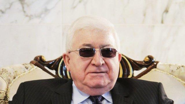 президент Ирака благодарен России