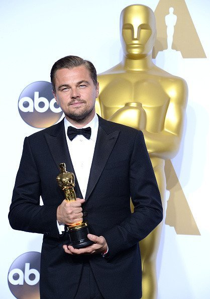 Лео и его заветный «Оскар», Фото: Getty Images