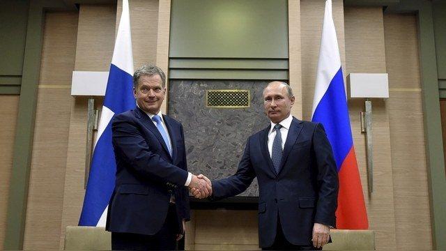 финский президент доволен Путиным