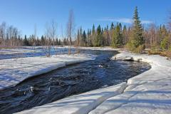 В этот день шло бурное снеготаяние (Фото: Shutterstock)