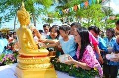 Исторически Сонгкран — это праздник любви и почтения