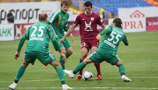 Футбол 25 тур россии