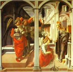 Фра Филиппо Липпи, «Благовещение» (1442