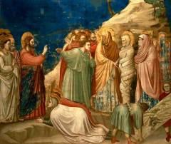 «Воскрешение Лазаря», Джотто ди Бондоне