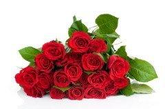 В этот день Барселона буквально усыпана букетами красных роз (Фото: Vitaly Raduntsev, Shutterstock)