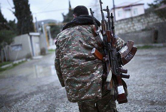 в Нагорном Карабахе перемирие