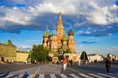 Красная площадь, вид на храм Василия Блаженного (Фото: Sailorr, Shutterstock)