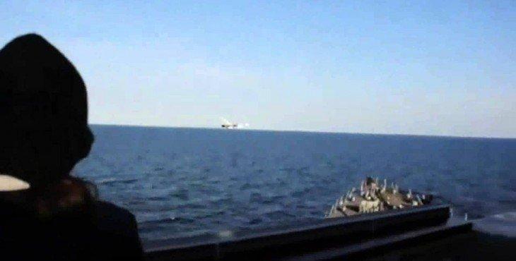 У моряки на американском эсминце USS Donald Cook отказались проводить учения (видео)