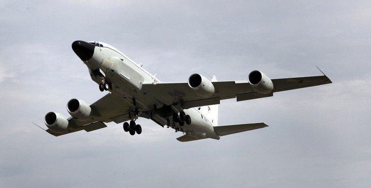 самолет США летал возле границ