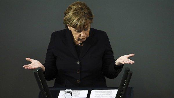 Говорить оботмене антироссийских санкций пока рано— Меркель