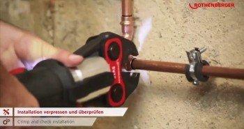 Как работают немецкие сантехники — просто космос! (Видео)