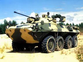Бесшумный БТР-90 готов к поставкам в войска
