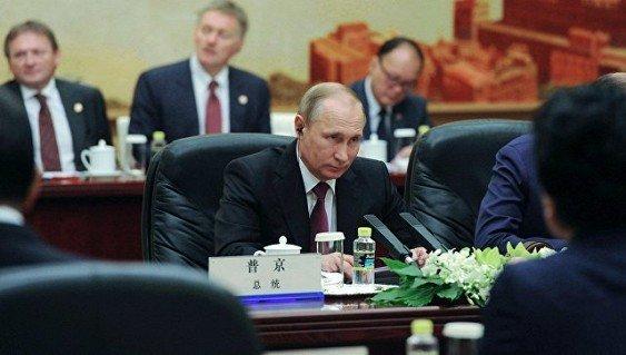 молниеносный Путин в Китае