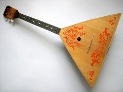 Балалайка — национальный русский инструмент (Фото: Obvious, Shutterstock)