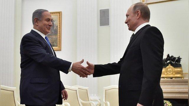Нетаньяху приехал в Москву