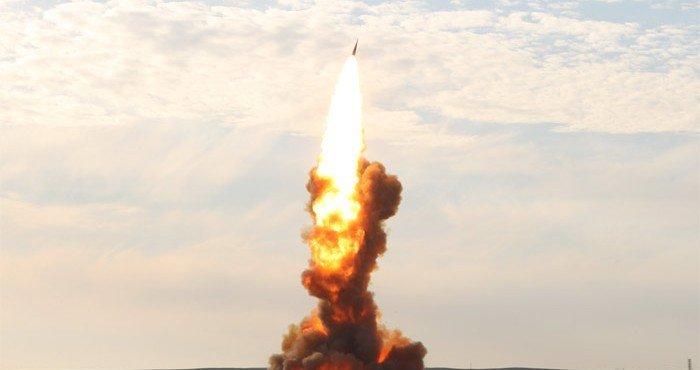 Россия запустила ракету в Казахстане