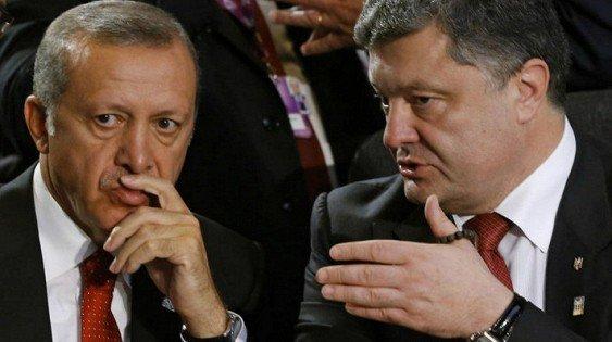 Порошенко утверждает, что извинений Эрдогана перед Россией не было