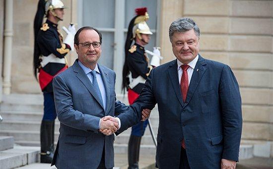 Олланд анонсировал готовность «нормандской четверки» к новой встрече