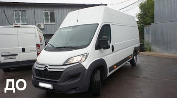 Жить в пробках можно — если переделать грузовой фургончик в ВИП-Офис!