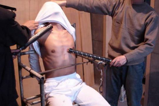 Пытка током видео