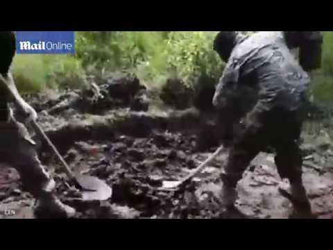 В Британии шокированы видео с «погребением живого сепаратиста»