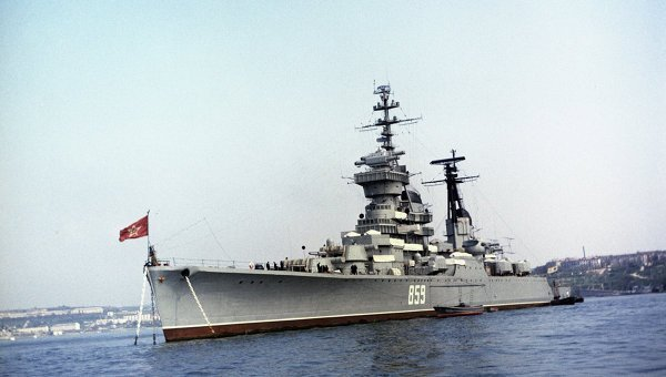 NI смоделировал «битву морских титанов» между военными кораблями США и РФ
