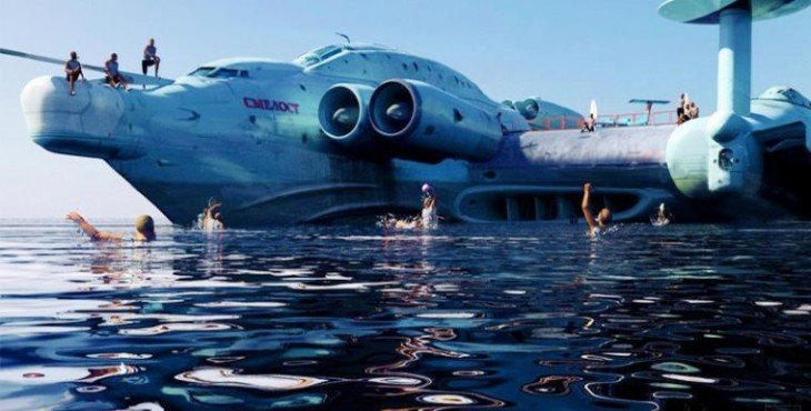 «Каспийский монстр» возвращается. Россия создала новую головную боль для пентагона.