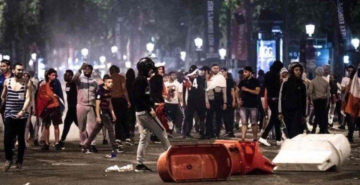 Беспорядки в Париже: ночь «живых мертвецов»