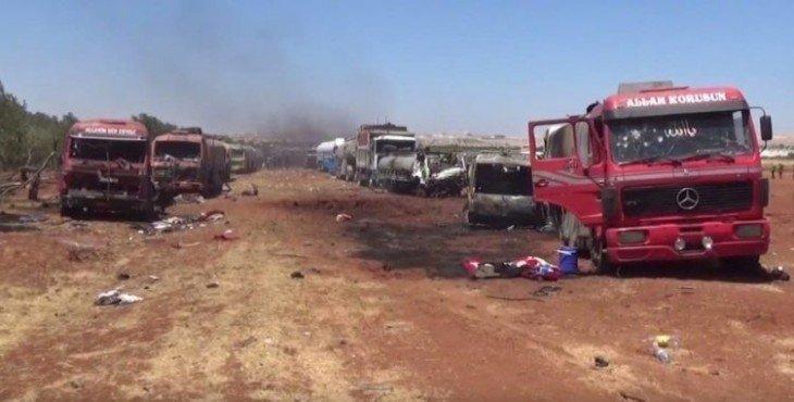 боевики в Сирии остались без топлива