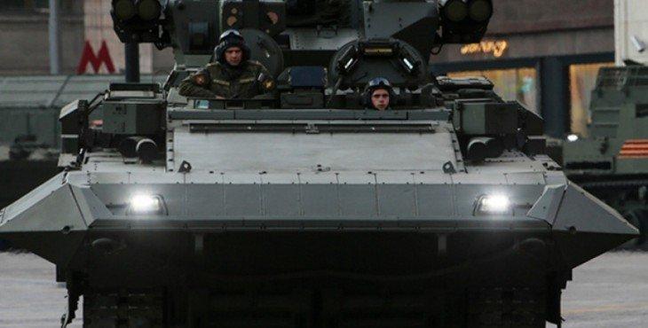 Русская «Армата»: Т-15 выходит на охоту