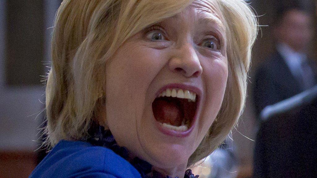 хиллари клинтон припадок фото