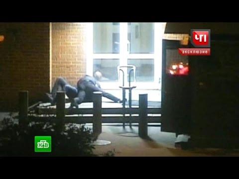Появилось видео нападения сотрудника ЦРУ на полицейского в Москве