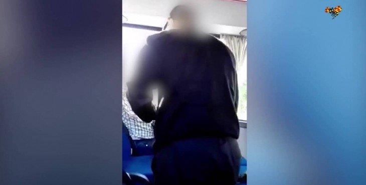 В Швеции водитель автобуса напал на мигранта из Сирии (видео)