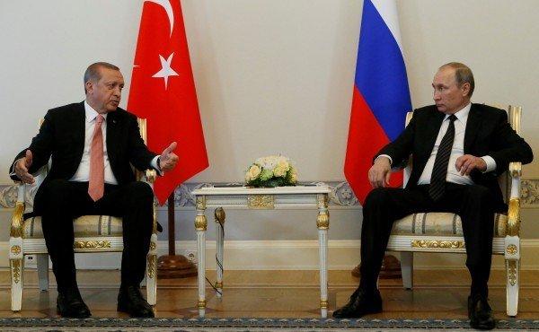 Очем побеседовал Путин сЭрдоганом