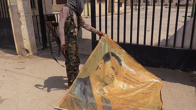 Русские военные добились предотвращения огня вЭль-Хасаке