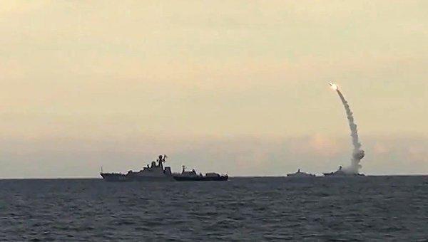 Корабли Каспийской флотилии РФ. Архивное фото