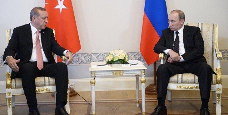 Путин и Эрдоган встретились