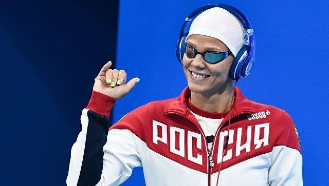 Пловчиха Ефимова выиграла вторую серебряную медаль наОИ
