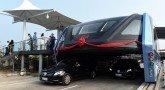 Китай придумал автобус-портал