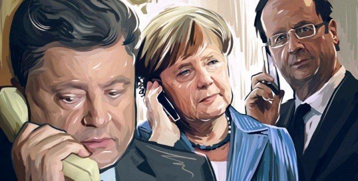 Киев согласовал сПарижем иБерлином возобновление работы «нормандского формата»— Порошенко