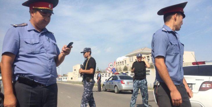 В Бишкеке террорист-смертник устроил взрыв