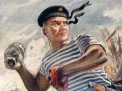 В России тельняшка стала особым символом, отличительным знаком настоящих мужчин